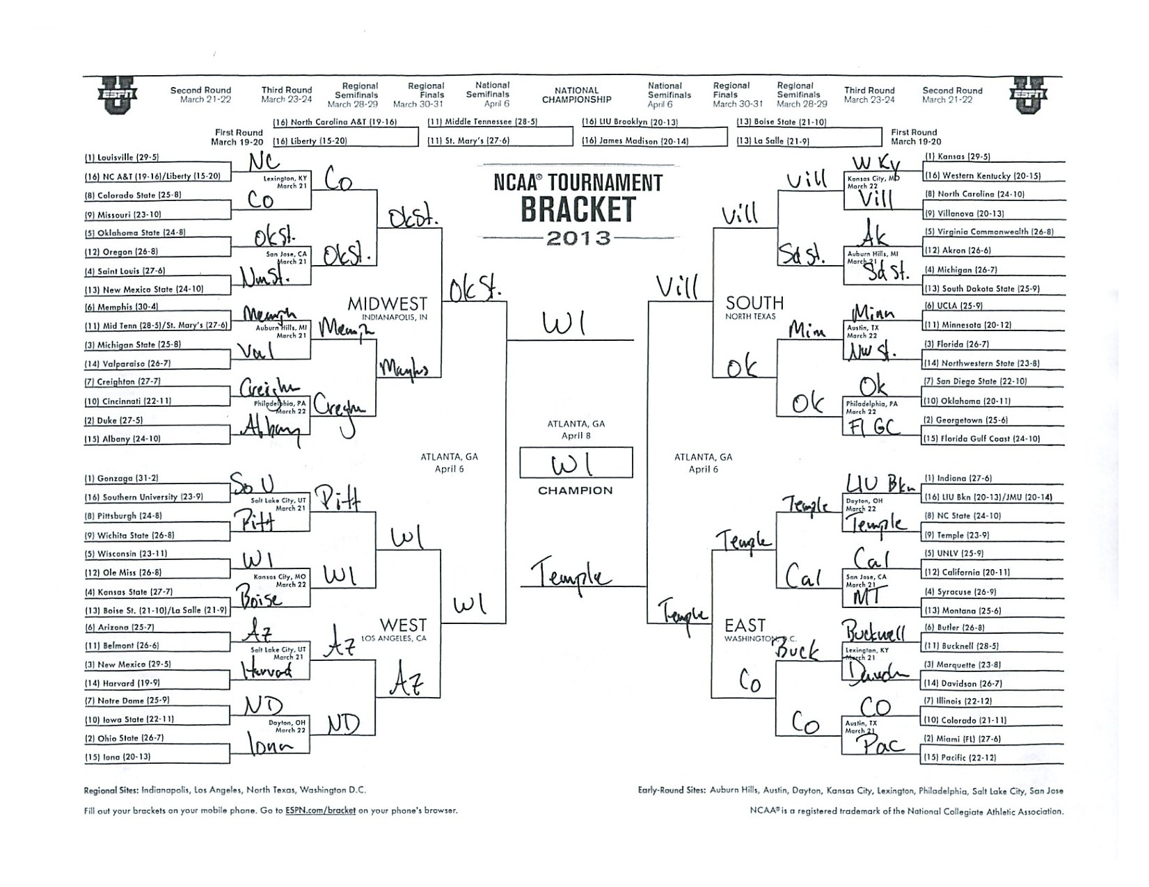 8 team 3 game guarantee bracket - Fill Out and Sign ...